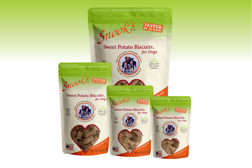 Snook's Pet Products Sweet Potato Biscuits
