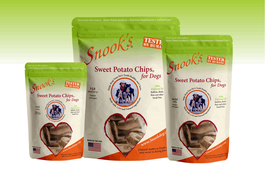 Snook's Pet Products Sweet Potato Chips